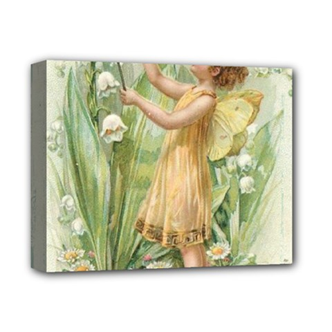 Fairy 1225819 1280 Deluxe Canvas 14  X 11  (stretched) by vintage2030