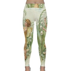 Fairy 1225819 1280 Classic Yoga Leggings by vintage2030