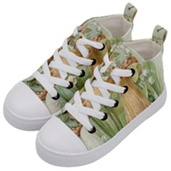 Fairy 1225819 1280 Kid s Mid Top Canvas Sneakers by vintage2030