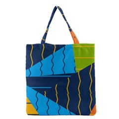 Background Wallpaper Colors Color Grocery Tote Bag