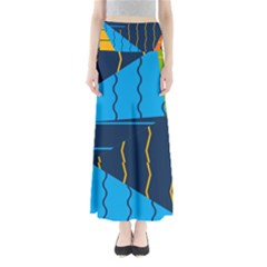 Background Wallpaper Colors Color Full Length Maxi Skirt