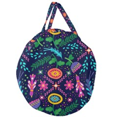 Pattern Nature Design Patterns Giant Round Zipper Tote