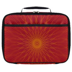 Background Rays Sun Full Print Lunch Bag by Sapixe