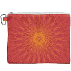 Background Rays Sun Canvas Cosmetic Bag (xxxl) by Sapixe
