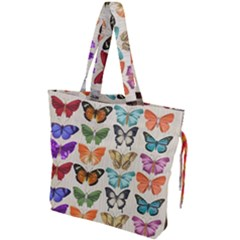 Butterfly 1126264 1920 Drawstring Tote Bag by vintage2030