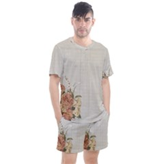 Background 1210639 1280 Men s Mesh Tee And Shorts Set