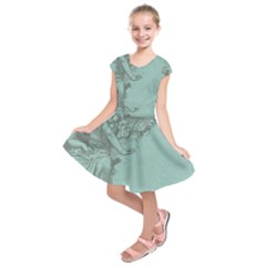 Background 1210548 1280 Kids  Short Sleeve Dress