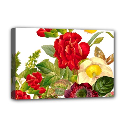 Flower Bouquet 1131891 1920 Deluxe Canvas 18  X 12  (stretched) by vintage2030