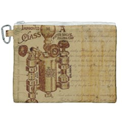 Vintage 1123731 1920 Canvas Cosmetic Bag (xxl) by vintage2030