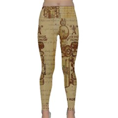 Vintage 1123731 1920 Lightweight Velour Classic Yoga Leggings