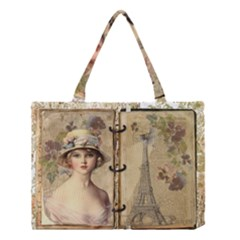 Paris 1122617 1920 Medium Tote Bag by vintage2030