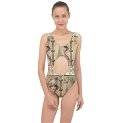 Paris 1122617 1920 Center Cut Out Swimsuit