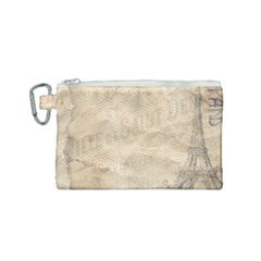 Paris 1118815 1280 Canvas Cosmetic Bag (small) by vintage2030