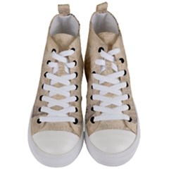 Paris 1118815 1280 Women s Mid Top Canvas Sneakers