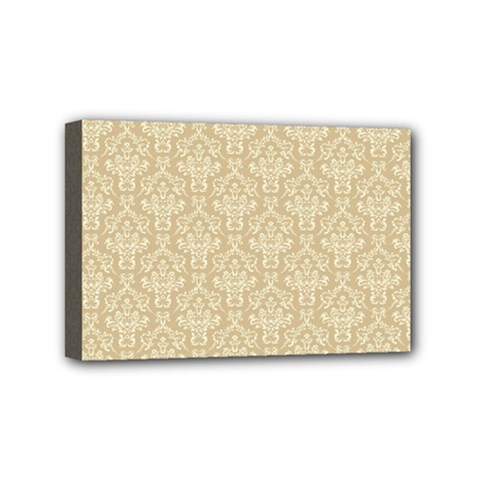 Damask 937607 960 720 Mini Canvas 6  X 4  (stretched) by vintage2030