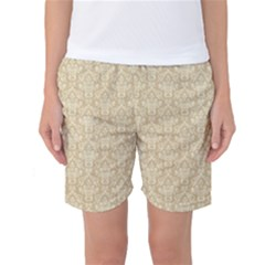 Damask 937607 960 720 Women s Basketball Shorts