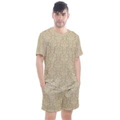 Damask 937607 960 720 Men s Mesh Tee And Shorts Set by vintage2030