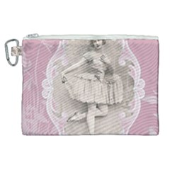 Lady 1112861 1280 Canvas Cosmetic Bag (xl) by vintage2030