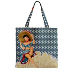 Retro 1107634 1920 Zipper Grocery Tote Bag by vintage2030
