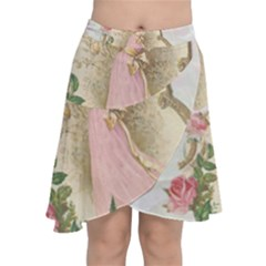 Vintage 1079517 1920 Chiffon Wrap Front Skirt
