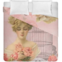 Woman 1079479 1920 Duvet Cover Double Side (king Size) by vintage2030