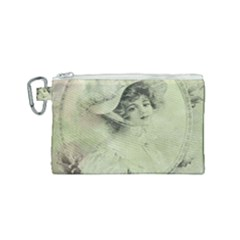 Woman 1079507 1920 Canvas Cosmetic Bag (small) by vintage2030