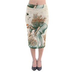 Flapper 1079515 1920 Midi Pencil Skirt by vintage2030