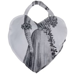 Vintage 971636 1280 Giant Heart Shaped Tote