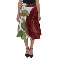 Rose 1077964 1280 Perfect Length Midi Skirt by vintage2030