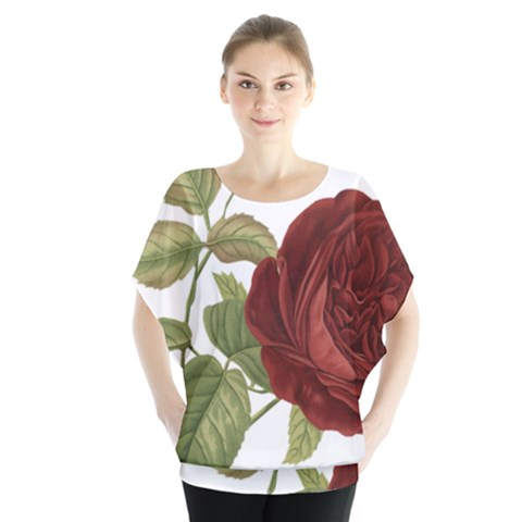 Rose 1077964 1280 Blouse by vintage2030