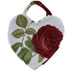 Rose 1077964 1280 Giant Heart Shaped Tote