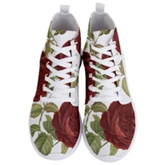 Rose 1077964 1280 Men s Lightweight High Top Sneakers by vintage2030