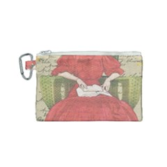 Vintage 1079413 1920 Canvas Cosmetic Bag (small) by vintage2030