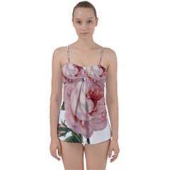 Rose 1078272 1920 Babydoll Tankini Set