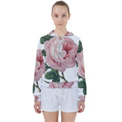 Rose 1078272 1920 Women s Tie Up Sweat by vintage2030