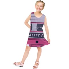 Pink Cassette Kids  Tunic Dress