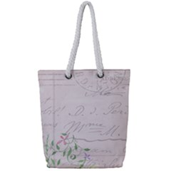 Background 1071141 1920 Full Print Rope Handle Tote (small)