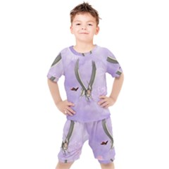Cute Little Pegasus With Butterflies Kid s Set