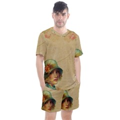 Old 1064510 1920 Men s Mesh Tee And Shorts Set