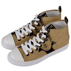 Vintage 1060197 1920 Women s Mid Top Canvas Sneakers by vintage2030