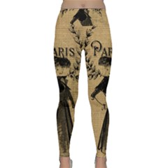 Vintage 1060201 1920 Lightweight Velour Classic Yoga Leggings