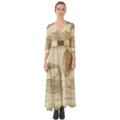 Vintage 979490 1280 Button Up Boho Maxi Dress