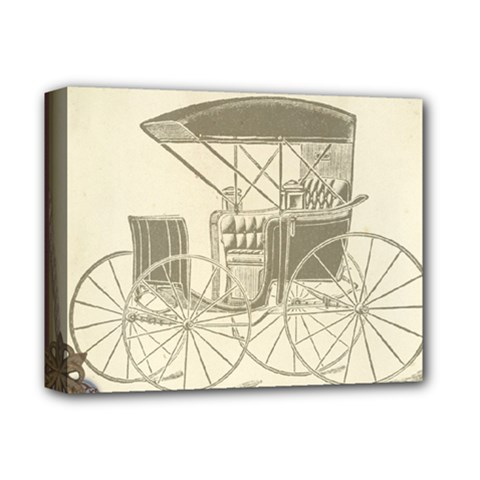 Vintage 979514 1280 Deluxe Canvas 14  X 11  (stretched)
