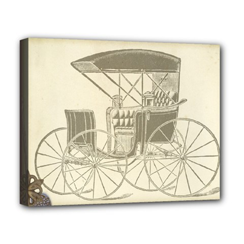 Vintage 979514 1280 Deluxe Canvas 20  X 16  (stretched)