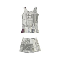 Vintage 979514 1280 Kid s Boyleg Swimsuit