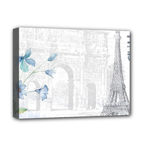 French 1047909 1280 Deluxe Canvas 16  X 12  (stretched)