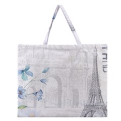 French 1047909 1280 Zipper Large Tote Bag by vintage2030