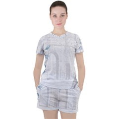 French 1047909 1280 Women s Tee And Shorts Set