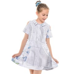 French 1047909 1280 Kids  Short Sleeve Shirt Dress