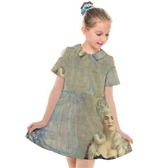 Vintage 1047910 1280 Kids  Short Sleeve Shirt Dress